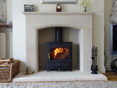 woodburner fireplace