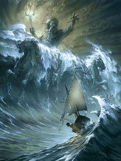 Anthony Jean, Poseidon from L' Odyssée