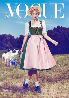 Vogue Deutschland Trachten Spezial Wies'n 2012 | Furcht und Elend