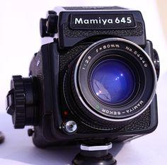 Mamiya 645J 6x6 Camera
