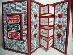 Janine Rawlins Stampin'Up! Independent Demonstrator : Valentines Day Building Block Card