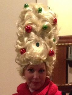 Whoville hair!