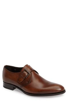 To Boot New York Emmett Monk Strap Shoe In Chester Leather To Boot New York, Shoe Crafts, Monk Strap Shoes, New York Mens, Driving Shoes, Penny Loafers, Oxford Shoes, Dress Shoes, Nordstrom
