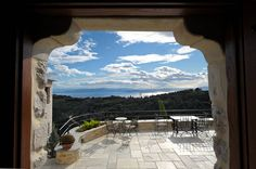 Philippitzis & associates » Blog Archive » Sakali Hotel Steam Bath, Old Mansions, The Rock, Airplane View, 19th Century, Greece, Old Things, Tapestry, Sun
