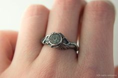 Sterling Silver Ring Witches Stump Forestry Ring by SilveryLake Twig Ring, Branch Ring, Blue Topaz Ring, Moonstone Ring, Magic Charms, Smoky Quartz Ring, Dragon Ring, Witch Jewelry, Natural Opal