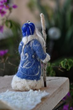 Winter ~ King Winter ~ Needle Felted: