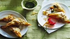 How to make the perfect Sweet Potato and Goat's Cheese Samosas by Reza Mahammad on Food Network UK.