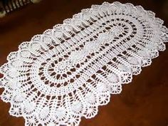 croched table runners patterns - Bing Images