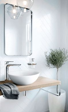 The clean lines of the Body and handle make this fitting an ideal component of a visually harmonious interior design. Contemporary Bathroom Designs, Contemporary Interior Design, Bathroom Furniture, Bathroom Interior, Bathroom Mirrors, Bathrooms, Bathroom Inspiration, Home Decor Inspiration, Lavabo Design
