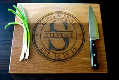 Personalized Cutting Board | 18 Wedding Gifts For Someone You Don't Really Know