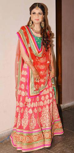 Soha's elder sister Saba Ali Khan at Soha Ali Khan & Kunal Khemu wedding. #Bollywood #Fashion #Style #Beauty