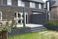 Outdoor Retreat, Outdoor Decor, Simple Colors, Planter Boxes, Water Garden, Garden Projects, Home And Garden, New Homes, Backyard