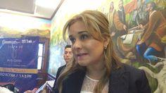<p>Chihuahua, Chih.- María Eugenia Campos Galván, presidenta municipal comentó que se espera que la Plataforma Escudo Chihuahua arranque