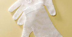 FREE Pattern: Bridal Gloves #crochet | Vintage Crochet | Pinterest | Gloves, Bridal and Crochet