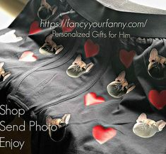 We all have a million photos of our fur babies.... Don't let them slip away into the archives! Make them underwear models! #NextLevel #FurbabyLove #personalized #giftsforhim #giftsforanyone #funnygifts
