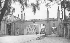Pasarela entre la Feria de Muestras y Viveros en General Elio. 1942 (ya desaparecida)