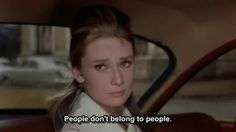 People don't belong to people
