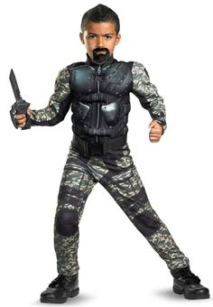 BuyCostumes GI Joe (under $10!): A portion of every purchase from this post is donated to charity.