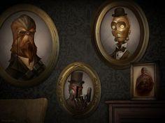 victorian Star Wars portraits