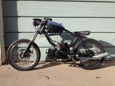 bobber Cool Mopeds * Custom Mopeds * Shit-hot Mopeds