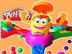 Jogo Play Doh Launch Game Doh-Doh Laranja Hasbro