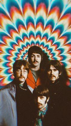 Foto Beatles, Les Beatles, Beatles Art, Beatles Poster, Beatles Photos, Iphone Wallpaper Music, Pop Art Wallpaper, Wallpaper Space, Aesthetic Iphone Wallpaper
