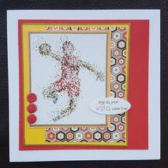 Sporty birthday cards – Inky fingered Cat Men's Cards, Making Cards, Free Paper, Birthday Cards, Sporty, Cat, Boys, Illustration, Bday Cards