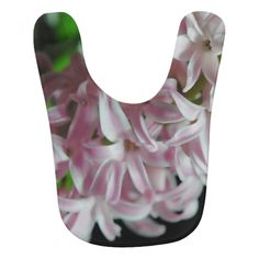 Pink Hyacinth Flowers Bibs