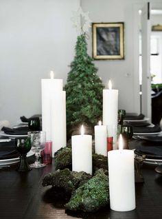 Kolme kotia - Three Homes   Skandinaavista tyyliä ja stylistin portfoliosta kauniita tummasävyisiä joulusisustuksia.     Koti Tanskassa - A...