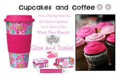 """""""Cupcakes and Coffee Pop Up"""" by chardonae-l-davis ❤ liked on Polyvore featuring Lilly Pulitzer, Chloe + Isabel and TOMS"""