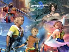 Final Fantasy X-the first Final Fantasy game I have ever played...and I instantly fell in love!!