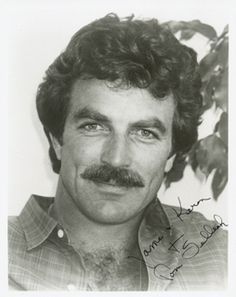 Would love to run my fingers through those curls Old Hollywood Glamour, Vintage Hollywood, Hollywood Stars, Tom Selleck Movies, John Hillerman, Jesse Stone, Most Handsome Actors, Sam Elliott, Blue Bloods