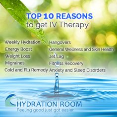 TOP 10 REASONS TO GET IV THERAPY