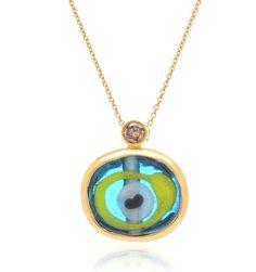 Elena Votsi Evil Eye Necklace