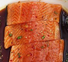 Simple Fish Orange Chili Marinade Recipe