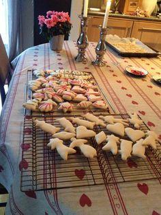 """Julemenn"" or ""kakemenn"" - a classic Norwegian Christmas cookie especially geared towards children."