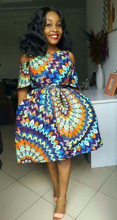 African fashion pieces ideas Source by aicha_sang African Inspired Fashion, African Print Fashion, Ankara Fashion, Tribal Fashion, African Prints, African Wear Dresses, African Attire, Kente Styles, Ankara Dress