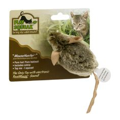 I'm learning all about Play -N- Squeak MouseHunter Cat Toy at @Influenster!