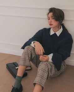 K Fashion stylenanda korean cool urban lol what idk lmao Likes, 10 Comment. K Fashion stylen Korean Outfits, Retro Outfits, Mode Outfits, Cute Casual Outfits, Fall Outfits, Vintage Outfits, Fashion Outfits, Fashion Ideas, Fashion Pants