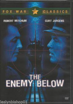 The Enemy Below (DVD, 2004) Curt Jurgens, Robert Mitchum