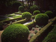 Formal garden design on Ojai California #ojai #california #garden #design #landscape #formal #plants #nature #outdoors
