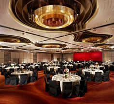 InterContinental Hong Kong Ballroom  #wedding