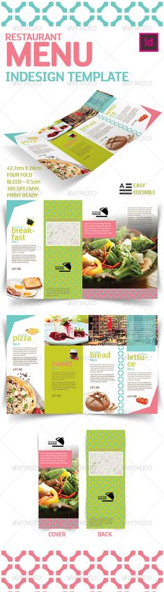 Restaurant Menu Indesign Template - Food Menus Print Templates Download here : http://graphicriver.net/item/restaurant-menu-indesign-template/5744939?s_rank=1292&ref=Al-fatih