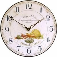 Fruits De Mer Wall Clock - 36cm