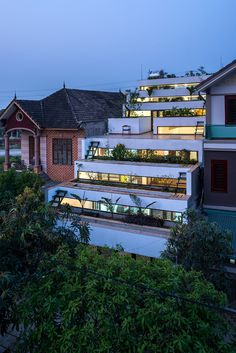 Archiemons • H&P Architects Creates Tiered Home In Vietnam With Stepped Back Terraces
