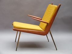 Peter Hvidt - Boomerang chair for France and Sons, early 1950s