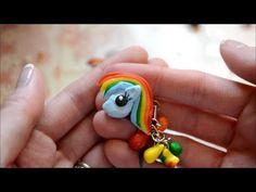 ▶ Rainbow Dash Charm Tutorial