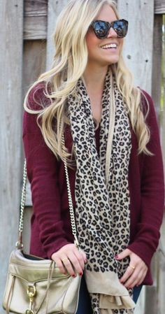 Seminole #Style Part VI: Garnet #Sweater by Living In Color Print
