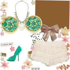 """""""Camisera verde"""" by paola-6731 on Polyvore"""