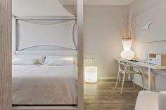 Blanco Hotel (Formentera) Ibiza Formentera, Bedroom Design Inspiration, Ibiza Spain, Sweet House, Bathroom Collections, Branding Design, Rooms, Spaces, Holiday